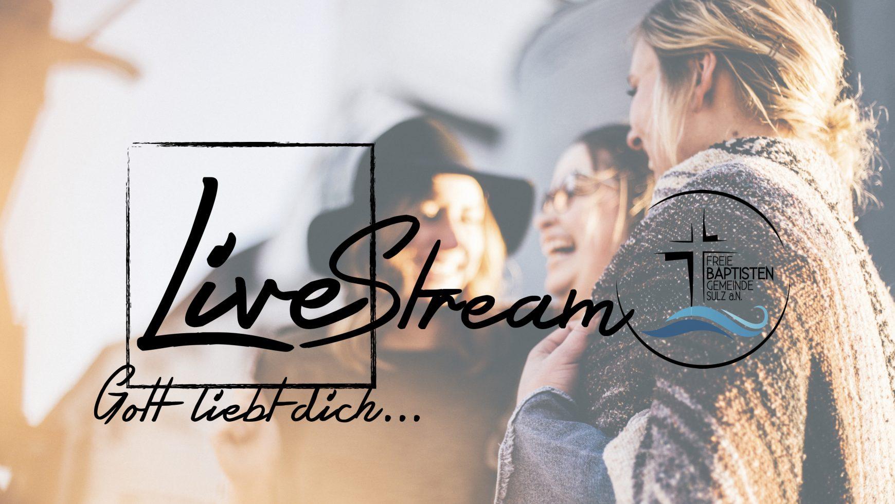 Live Stream – Sei dabei!